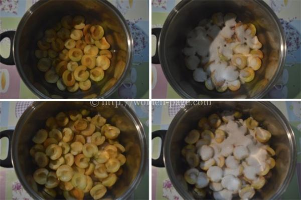 Как приготовить абрикосовое варенье без косточек фото